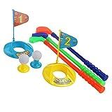 ROSENICE Minigolf Set Kinder Ballspiele Sport Spielzeug