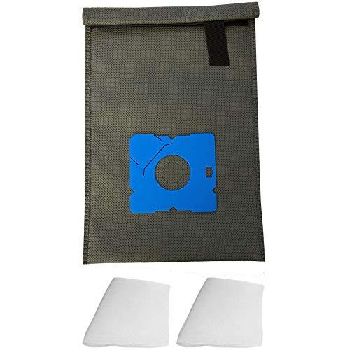 Wiederverwendbarer Dauer-Textil-Staubsaugerbeutel kompatibel für AFK BS-1500, BS-1600W, BS-1800W, BS-2000 W, BS-2000W.1