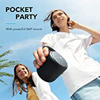 Anker Soundcore Mini 3 Bluetooth Speaker, BassUp and PartyCast Technology, USB-C, Waterproof IPX7, and Customizable EQ