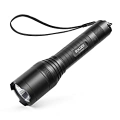 SUPER-BRIGHT: 900-lumen (max) Cree LED sweeps bright light over the length of about two football fields (660 ft / 200 m) and reaches nearly 1000 ft. Fully zoomable from wide to narrow beam. Features 5 adaptable settings: High / Medium / Low / Strobe ...