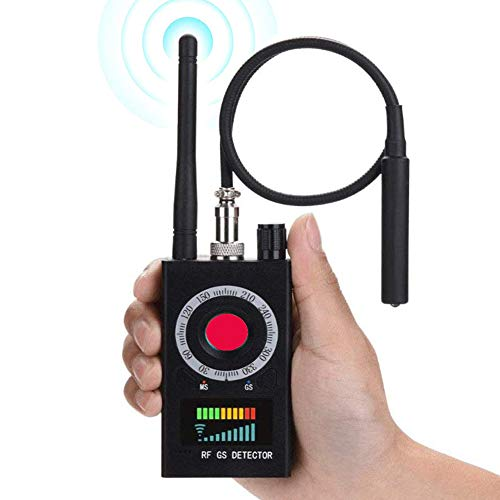 Anti Spy Detector, RF Finder Hidden Camera Detector Bug Detector, Wireless Hidden Camera Detector for GPS Tracking GSM Listening Device Finder, Locates Hidden Device in Office, Hotel, Bathroom