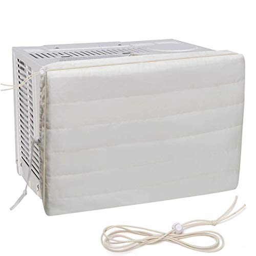 Yanlinmingjing Indoor Air Conditioner Cover, AC Defender Winter AC Cover- Window AC Unit Protection Cover