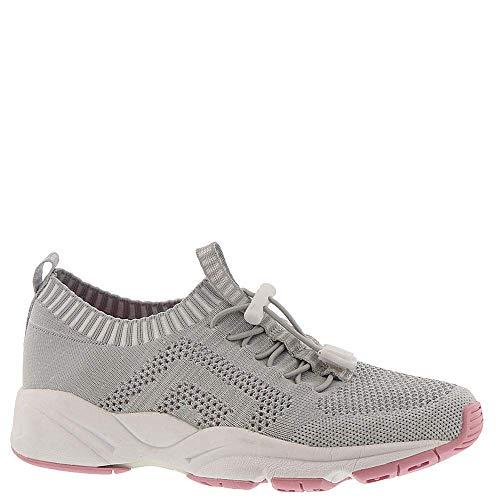 Propet Women's Stability ST Sneaker, Grey/Pink