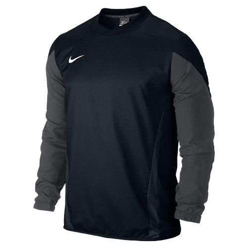 NIKE Herren Sweatshirt Squad 14 Shell, Black/Anthracite/White, XXL