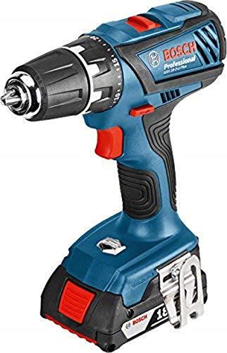Bosch GSR 18-2-LI Plus drill 1,3 kg - Drills (1 cm, 3 cm, 38 Nm, 17 Nm, 450 RPM, 1400 RPM)
