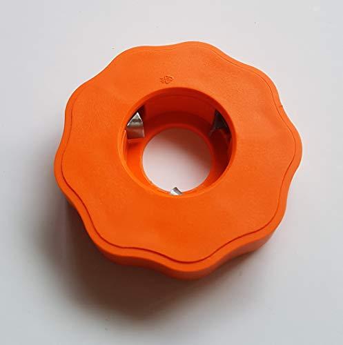 EasyDrehfix Flaschenöffner Aufschraubhilfe Öffnungshilfe Senioren (Orange)