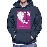 Star Wars Yoda One For Me Heart Men's Hooded Sweatshirt