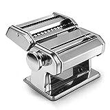 LGYKMU Nudelmaschine Haushalt Multi-Funktions-Pressmaschine Manuell Edelstahl Teig Maschine Roll...