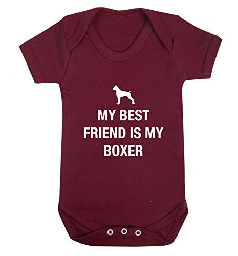 Flox Creative Baby Vest Best Friend Boxer - Rouge - 18-24 Mois