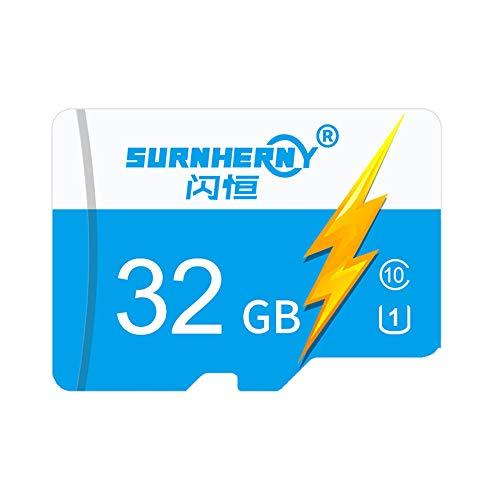 Docooler Mini-SD-kaart 8G/16G/32G/64G/128G TF-kaart camera geheugenkaarten 32GB blauw