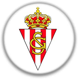 Sporting de Gijon : Spanish Football League, Pinback Button Badge 1.50 Inch (38mm)