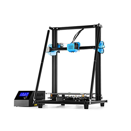 SMGPYDZYP Imprimante 3D de Haute précision, nivellement Automatique DIY All Full Metal Fram with Color Touchscreen and Resume Printing Function,V2 3D Industrial Printer