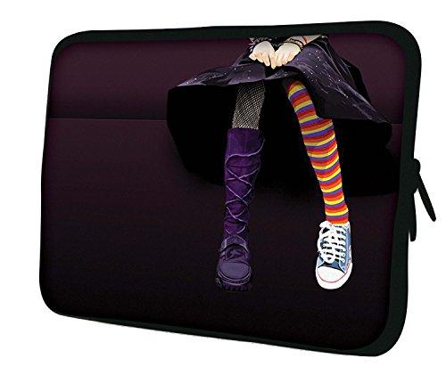 Luxburg Neoprene Sleeve Soft Case Bag for 14 inch Notebook/Laptop/Tablet - Emo Girl