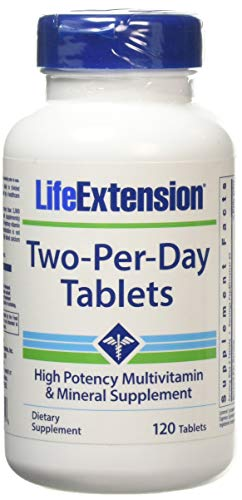 Life Extension Two-Per-Day, Tablets, (60 Tabs X 2) 120 Tablets
