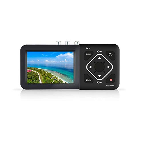 コンポジット/S-Video対応 3.5インチ液晶搭載レコーダー 簡単ビデオダビング TADREC-S