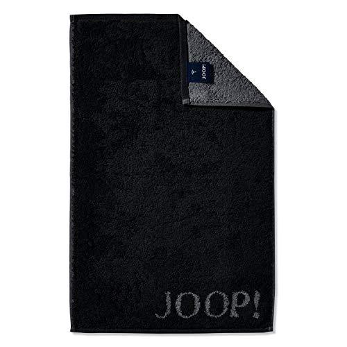 Joop! Handtücher Classic Doubleface 1600 Schwarz - 90 Gästetuch 30x50 cm