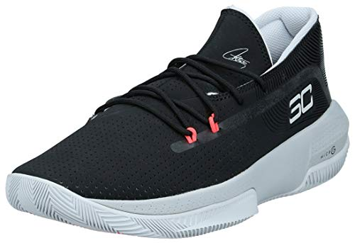 Under Armour Sc 3zer0 Iii, Herren Basketball, Schwarz (Black/Mod Gray/Halo Gray (001) 001), 37.5 EU