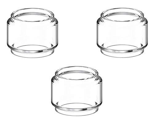 Birne Pyrex #2 Ersatzglas für TFV12 Prince Verdampfer (Packung von 3) Enthält Kein Nikotin