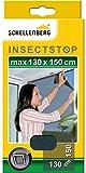 Schellenberg 50715 Mosquitera de protección para ventanas, lavable, Montaje rápido y...