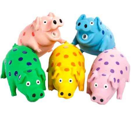 Multipet Goblets Pig Latex Toy