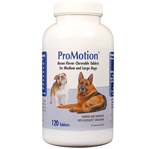 ProMotion For Medium & Large Dogs, 120 Chewable Tablets