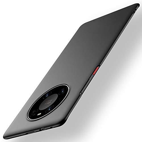 DOHUI für Huawei Mate 40 Pro Hülle, Superdünne Leichte PC Handyhülle [Stoßfeste] [Kratzfeste] [rutschfest] Schutzhülle kompatibel mit Huawei Mate 40 Pro (Schwarz)