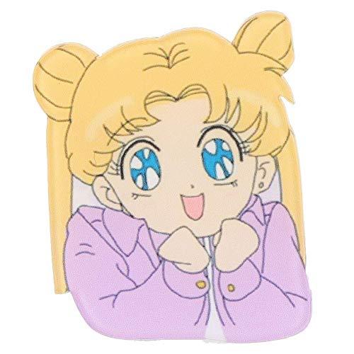 Fingertoys 1 Pcs Sailor Moon Mädchen Charakter Icon Acryl Anstecker Cartoon Sammlerstück Brosche Tasche Kleidung Zubehör Best Geschenk für Anime Fans Geschenk - Stil 02