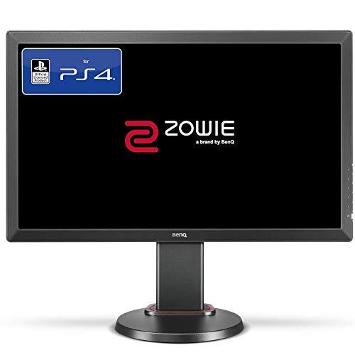 BenQ ZOWIE RL2455TS 60,96 cm (24 Zoll) Konsolen e-Sports Monitor (offiziell lizensiert für PS4/PS4 Pro, Lag-free, Black eQualizer, Color Vibrance, 1ms Reaktionszeit, höhenverstellbar) grau