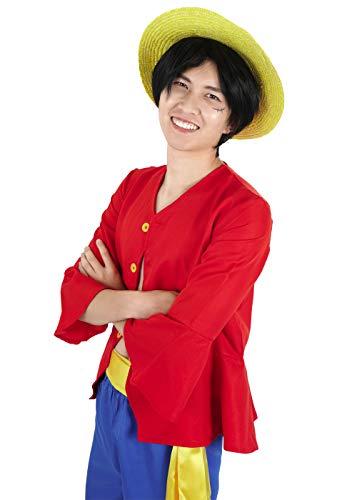 CoolChange One Piece Kostüme Monkey D. Ruffy nach 2 jähriger Trennung Hemd Hose Hut (S)