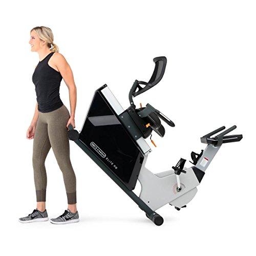 3G Cardio Elite RB Recumbent Exercise Bike Elite RB Recumbent Bike, Gray/Silver