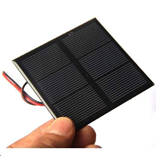 Módulo electrónico Mini panel solar con línea recargable de 1.2V batería 0.7W 1.5V Equipo electrónico de alta precisión