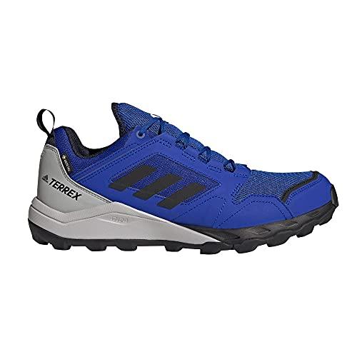 adidas Terrex Agravic TR GTX, Zapatillas de Trail Running Hombre, AZUFUE/NEGBÁS/Tinley, 49 1/3 EU
