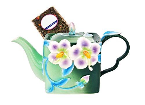 MamboCat Manufaktur-Teekanne mit Persian-Dekor - Jameson & Tailor 1242 + Teeprobe
