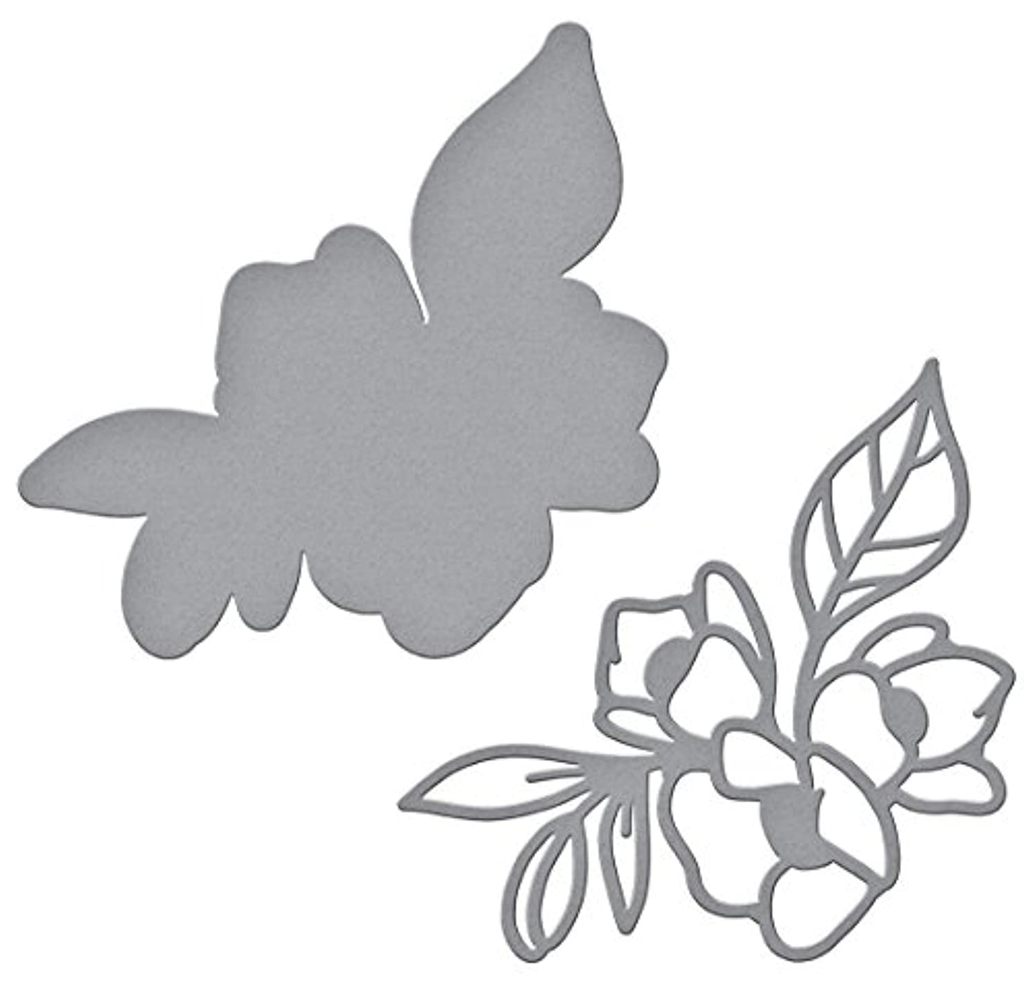 Spellbinders Shapeabilities Lovely Lilac by Stephanie Low Etched/Wafer Thin Dies