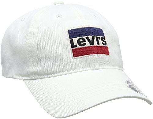 Levi's Herren Baseball Cap Sportswear Logo Flexfit, Weiß (Regular White 51), Einheitsgröße