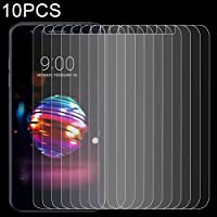 堅い電話スクリーンプロテクター 10 PCS LG K10(2018)用0.26mm 9H 2.5D強化ガラスフィルム