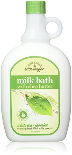 Village Nat. Bath Bain de lait Ultra-Moist Wht thé/Jasmn 28 oz (2 Pack)