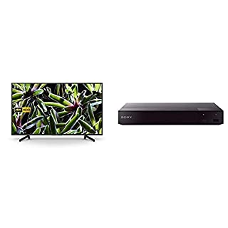 Sony BRAVIA KD55XG70 55-inch LED 4K HDR Ultra HD Smart TV - Black + Sony BDP-S6700 Blu-Ray DVD Player with Wireless Multiroom, Super Wi-Fi, 3D, Screen Mirroring and 4K Upscaling (2016 Model) - Black (B07QD252F8) | Amazon price tracker / tracking, Amazon price history charts, Amazon price watches, Amazon price drop alerts