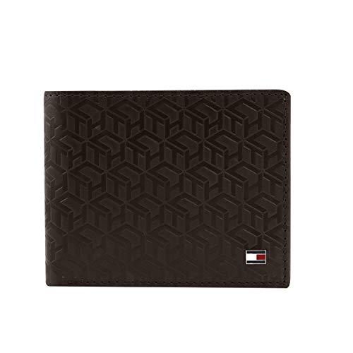 Tommy Hilfiger Dark Brown Leather Men's Wallet (8903496147766)