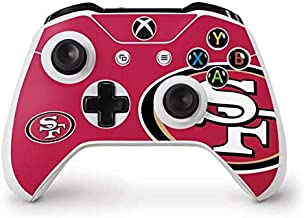 Skinit Decal Gaming Skin for Xbox One S Controller - Officially Licensed NFL San Francisco 49ers Large Logo Design