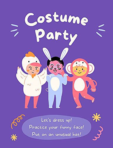 Costume Party: A Fun Activity For Child, Kids, Toddlers (English Edition)