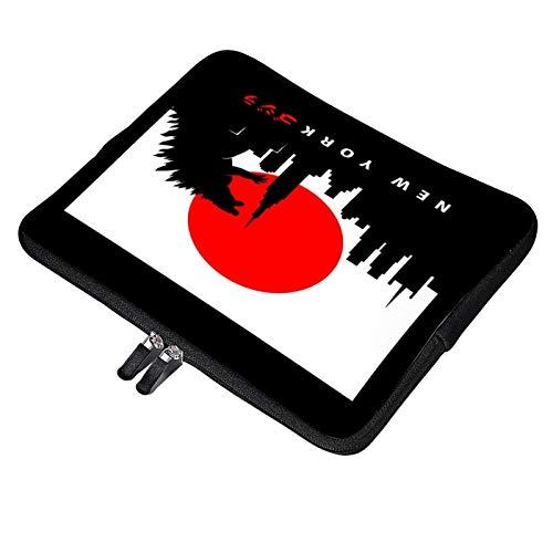 New York Godzilla Silhouette Laptop Bag 13 inch Briefcase MacBook Pro MacBook Air Work Business Slim Tablet Handbag