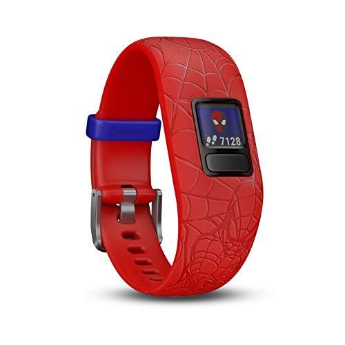 Garmin Vivofit Jr 2 Spiderman - Color Rojo