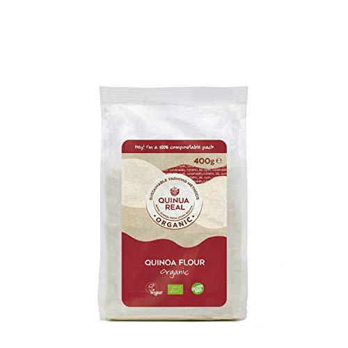 Quinua Real Harina de Quinoa, Gluten Free, 400g (Bio)