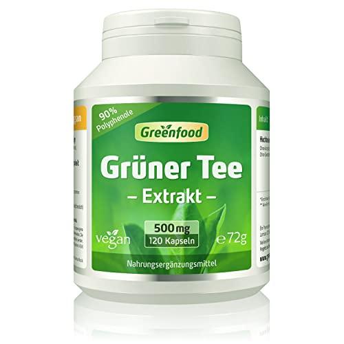 Greenfood Natural Products -  Grüner Tee Extrakt
