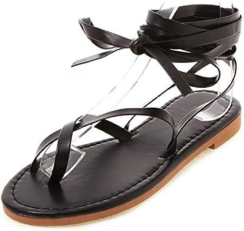 HommesGLTX Grande Taille 50 été Plage Vacances Sandales Femmes Chaussures Femme Décontracté Sandales hohemia Chaussures Femmes Chaussures