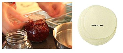 200 Tala 2lb Wax Discs Homemade Preserve Jars Kitchen Fruit Beige Jam Making Marmalade