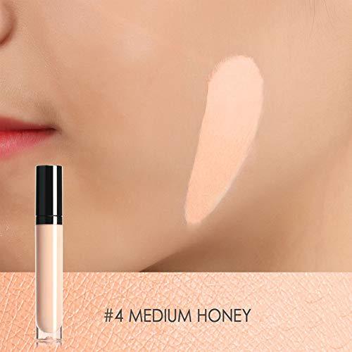 Simlug Correcteur Liquide Anti-cernes, Maquillage Visage Contour Rouge À Lèvres Liquide Anti-cernes Blemish Flaw Cover FA52(#04)