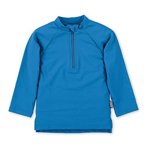 Sterntaler Unisex Baby Langarm-schwimmshirt Rash Guard Shirt, blau, 86/92