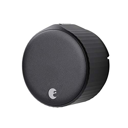 August Wi-Fi Smart Lock (Newest Model 4th Gen) - Alexa, Google Assistant, HomeKit, SmartThings and Airbnb Compatible - Upgrade Your Deadbolt – Matte Black